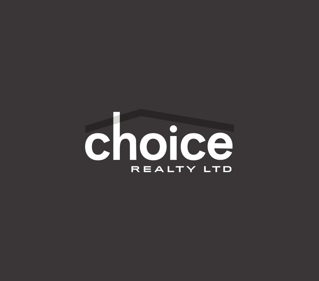 choice realty alternative black logo