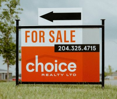choice realty sign design
